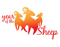 Year of the Sheep Logo