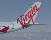 virgin / australia airlines
