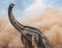 Therizinosaurus. The Stomping Land.