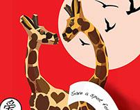 valentine's giraffes