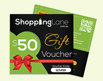 Gift Voucher Card Designs
