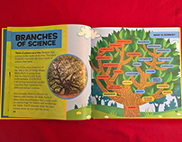 National Geographic Kids Science Tree Illustration