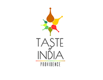Taste of India logo.
