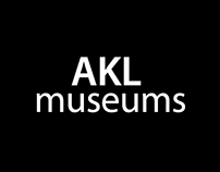 Wireframe for AKL museums