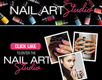 Color Show Nail Art Studio Application