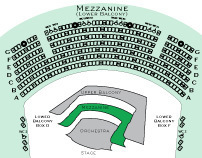 Seating Charts for Wagner Noël Performing Arts Center