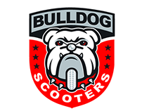 Bulldog Scooter Logo