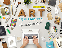 Art Equipments Scene Generator V2