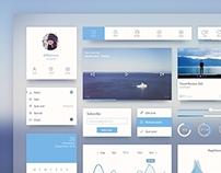 Ocean Blue UI