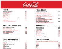 Ice Breakers / Coca Cola food bar branding