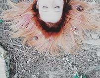 · freckled wooden girl ·