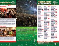 Hospitality Christmas DL Leaflet
