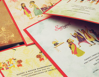 Indian Wedding Invite Design