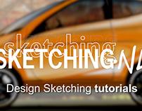 Design Sketching - Tutorial Video's