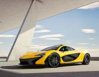 McLaren P1 - CG Imaging