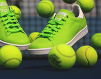 #WhatTheLevitation - Adidas PW X Stan Smith Tennis