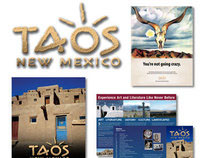 Taos, New Mexico, Interim Branding and Ad Campaign