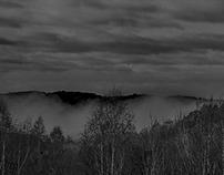 Midday fog race