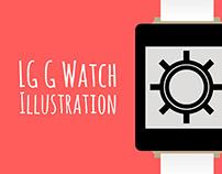 LG G Watch Illustration