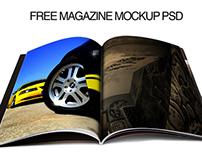 Free Magazine Mockup .psd