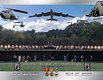 Rolling Thunder XX Commemorative Poster