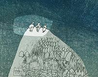 """""""Žmonės iš Alkapės"""" book cover"""
