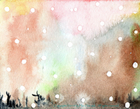 [First snow] by hanhaesuk