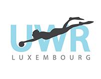 Logo Underwater rugby (UWR) Luxembourg