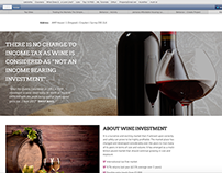 Vintners of London Landing page
