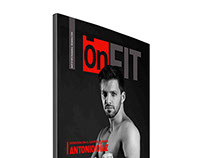 "Revista/Magazine ""OnFit"" - Freelance project"