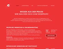 cubetech Academy Website