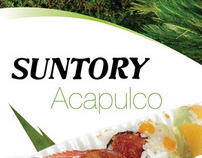 Folleto Suntory Acapulco