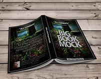 Book Mockup Dimension 160 x 225 mm - Paperbacks