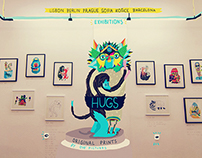 HUG • giclee print • signed limited edition