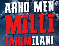 Arko Men milli takım ilanı
