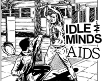 IDLE MINDS x A.I.D.S Split