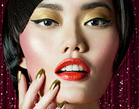 BEAUTY AT HOUSE OF LAUREL DE CHINE HOLIDAY 2014