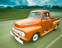 Ford F-1 Truck 1952