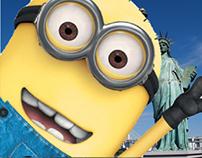 minion and Statue of Liberty