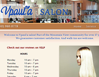 Vpaul'a Salon Website