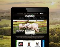 Viandes duBreton® - Site Web