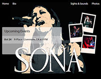 Sona The Band website