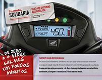 Campanha Doação de Sangue BR-Moto