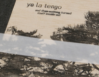 YO LA TENGO CD packaging