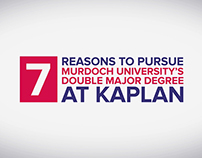 Murdoch University's Double Degree at Kaplan