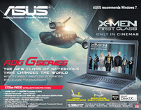 Asus X-men First Class Movie Tie-Up