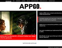 Web para Magazine de Apps
