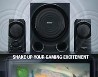 Sony Headphone and Speaker