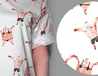 WEŹŻE textile and t-shirt design