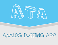 Analog Tweeting App - ATA